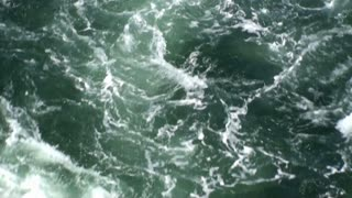 Emerald green water moving 2