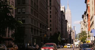 Empire State Building Down Street
