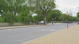 empty DC street