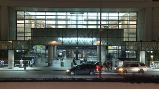Entrance to Los Angeles International Airport