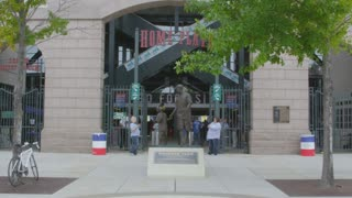 Entrance to Rangers Ballpark