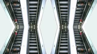 Escalator Mirrored
