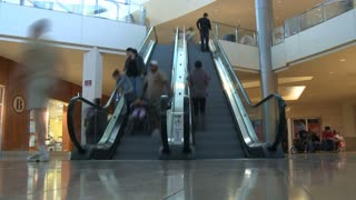 Escalator Timelapse