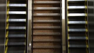 Escalators From Overhead