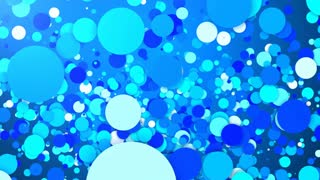 Exploding Blue Dots