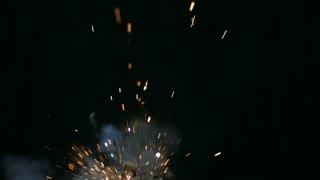 Explosion On Black