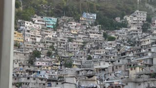 Extensive Hillside Neighborhood In Port-au-prince Haiti