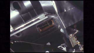 Extreme Close Up Docking Lunar Module