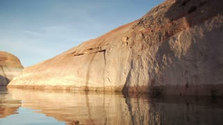 Extreme Slow-motion Lake Powell Canyons Utah Two