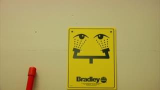 Eyewash Sign And Station