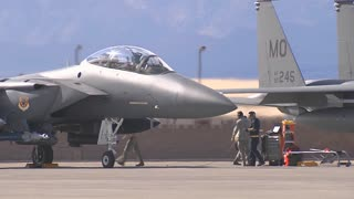 F-15 Eagle at Red Flag