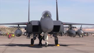 F-15E  Eagle at Red Flag