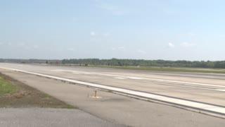 F-18 Hornet aircraft  pilots conduct field carrier landing practice