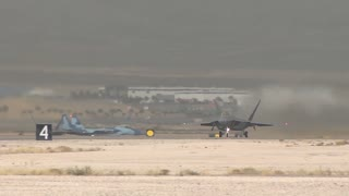 F-22 Raptor  at Red Flag