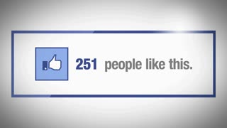 Facebook People Like Us Counter