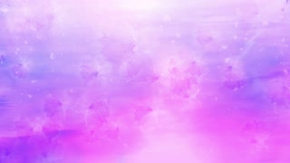 Falling flowers background animation loop