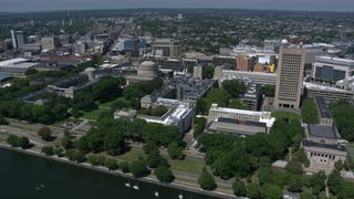 Famed Mit Campus From The Air, Cambridge, Massachusetts