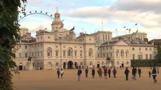 Famous Horseguards Parade Building