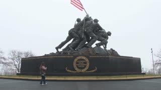 Famous Iwo Jima Statue