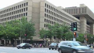 FBI Headquarters Across Busy Intersection 1
