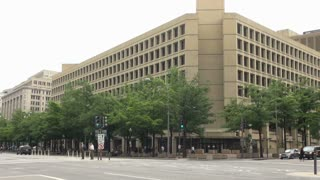 FBI Headquarters Across Busy Intersection 2