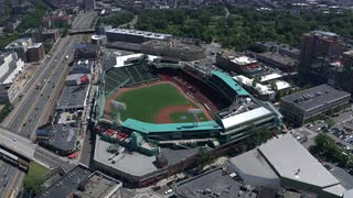 Fenway Park Isolated From The Air, Boston, Massachusetts