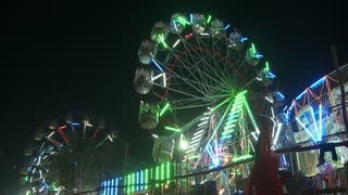 Ferris Wheel at Camel Fair in India