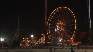 Ferris Wheel in Ocean City Maryland at Night