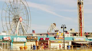 Ferris Wheel on Beach Boardwalk