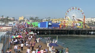 Ferris Wheel Santa Monica Pier TL