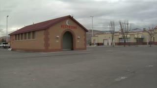 Film Crew Films Ourdoor Car Chase Scene