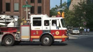 Firetruck in Philadelphia