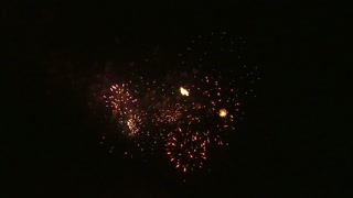 Fireworks Exploding in the Night Sky 10