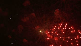 Fireworks Exploding in the Night Sky 11