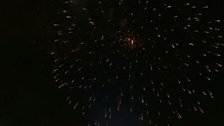 Fireworks Exploding in the Night Sky 15