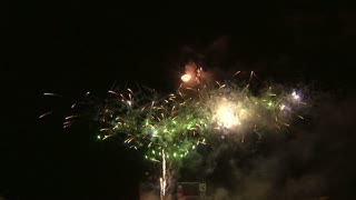 Fireworks Exploding in the Night Sky 3