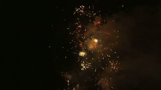 Fireworks Exploding in the Night Sky 4
