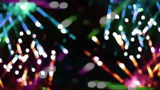 Fireworks Spark Crossfire