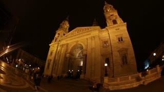 Fisheye View Of Budapest Church