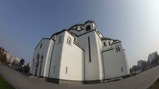 Fisheye View Of Cathedral