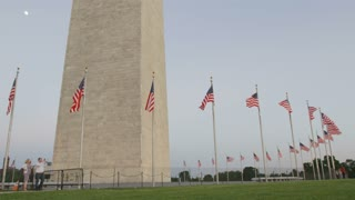 Flags of the washington monument, Washington DC