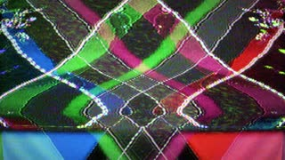 Flashing Abstract TV Static