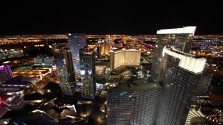 Flashing Lights To Sunrise Vegas Timelapse