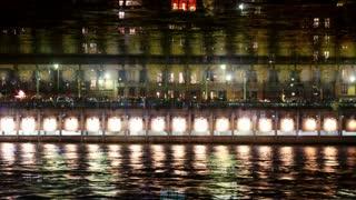 Flashing River Lights