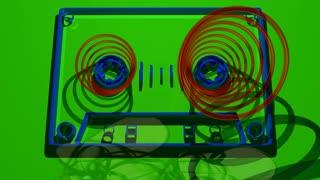 Flat Cassette Spool
