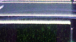 Flicker TV Static