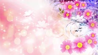Flower light scene 3 - Abstract Wedding Background 09