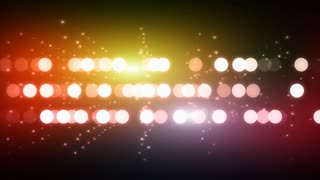 Flowing disco lights background