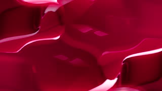 Flowing Red Liquid