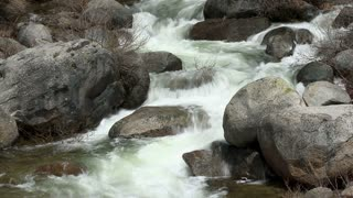 Flowing River Downstream